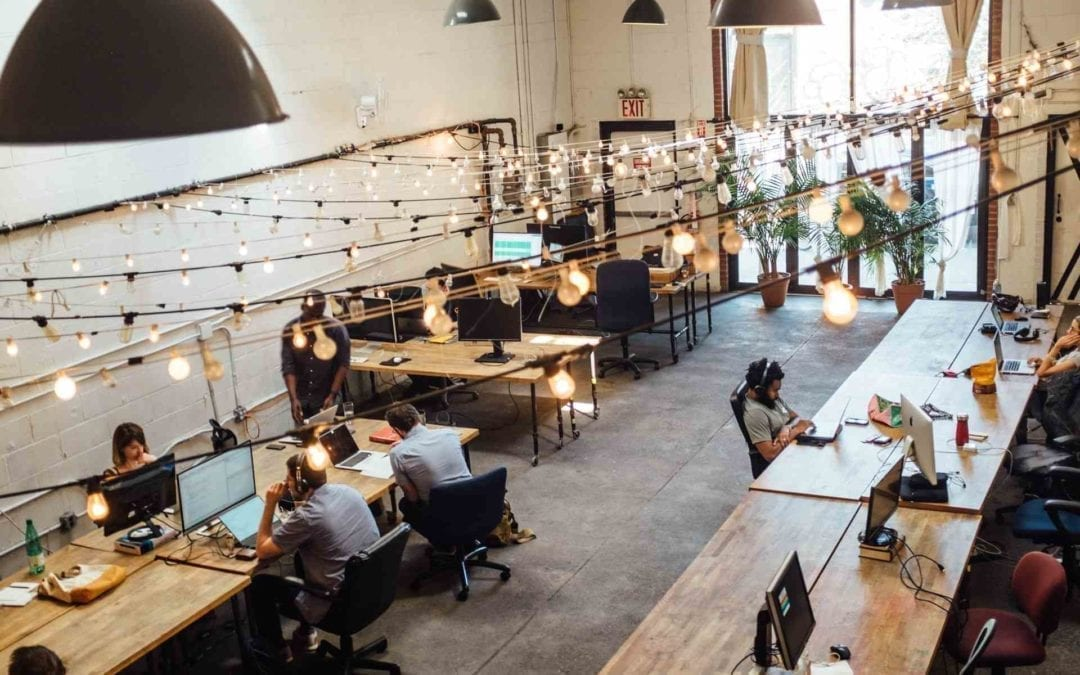 Coworking space - hot desks for rent